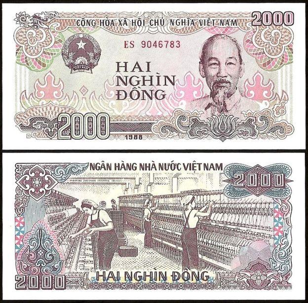 Vietnam 2000 DONG 1988 P 107 UNC