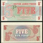 British 5 Pence