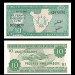 Burundi 10 Francs