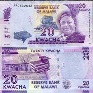 MALAWI KWACHA BANKNOTE