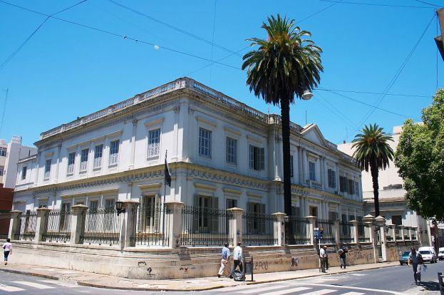 Old Casa de Moneda building, Buenos Aires, Argentina.