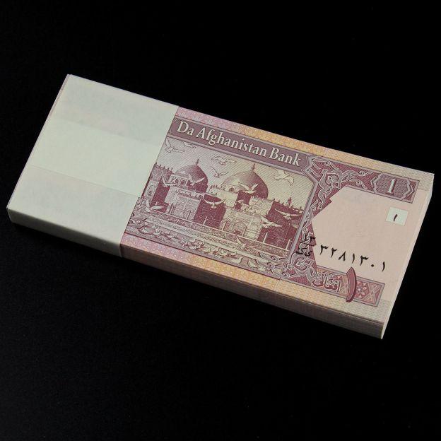 Bundle 100 Pcs Afghanistan 1 Afghani Banknotes Paper Money UNC New P-64 for sale.