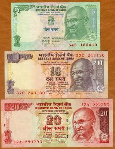 Collection of India Banknotes
