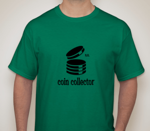 coincollectorshirtgreen