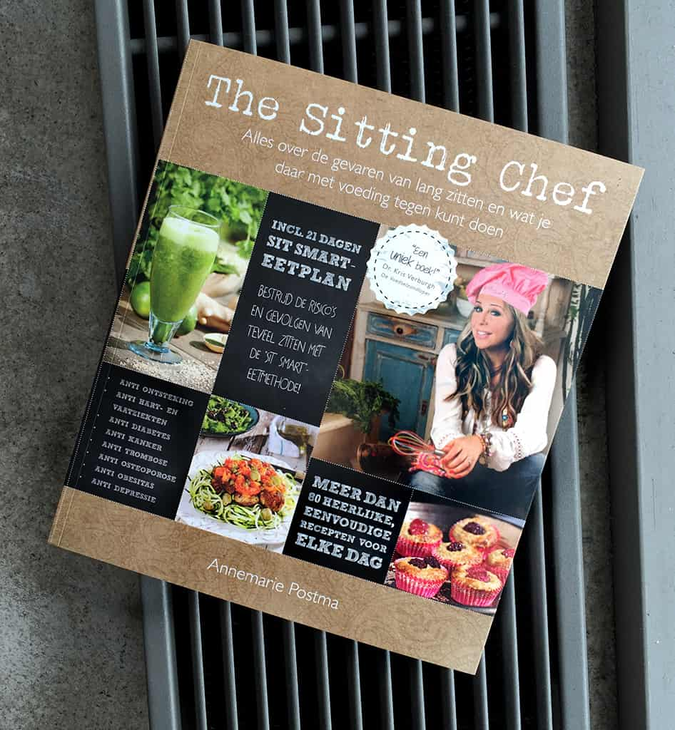 Kook / Lifestyle Boek The Sitting Chef  gearriveerd