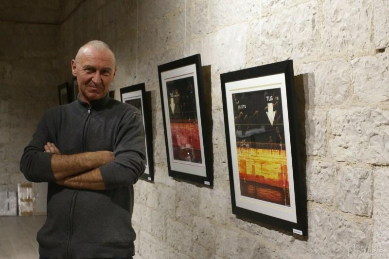 David D'Alessandro expos(ait) aux Docks de Marseille – Nov.15
