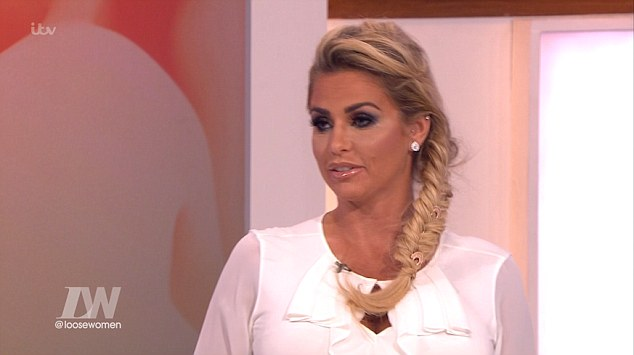 Katie Price Rips Into Ex Dwight Yorke On Loose Women