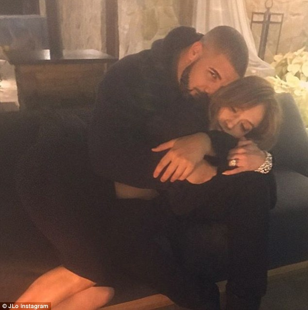 Jennifer Lopez And Drake Look In Love As They Cuddle Up And Both Share Same Pic To Instagram