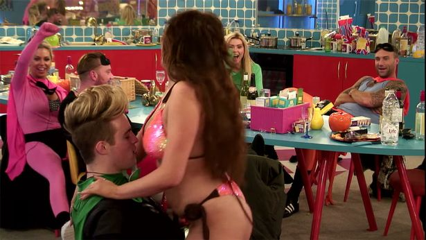 Chloe Ferry Gives Jedward A Sexy Lap Dance On Celebrity Big Brother
