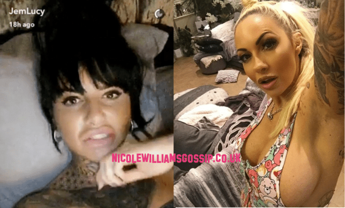 """Jemma Lucy Lashes Out A Jodie Marsh During Snapchat Video After Jodie Says Geordie Shore And Ex On The Beach Are Not """"Classy"""""""