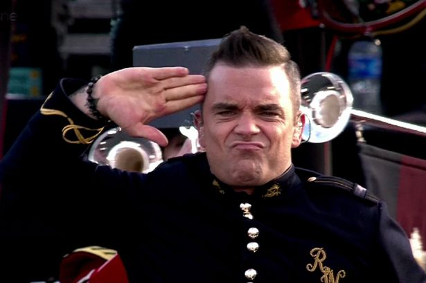 Robbie Williams Admits He Did Drugs In Buckingham Palace