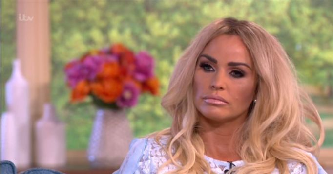 Katie Price Uses The N-Word Twice On This Morning Causing Phillip Schofield To Step In