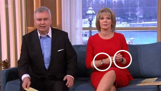 Ruth Langsford Makes A Fashion Mishap As She Wears Two Watches At One Time