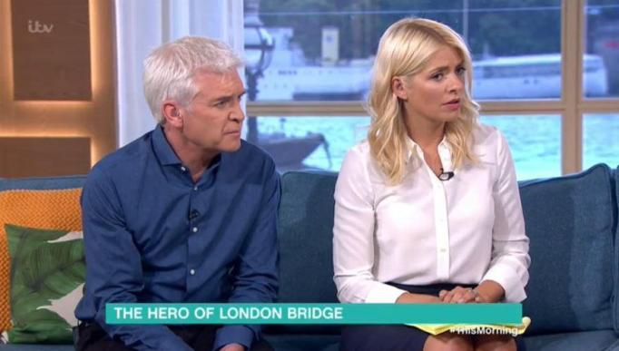 Holly Willoughby Left Distraught After Interviewing Hero Who Fought London Attackers