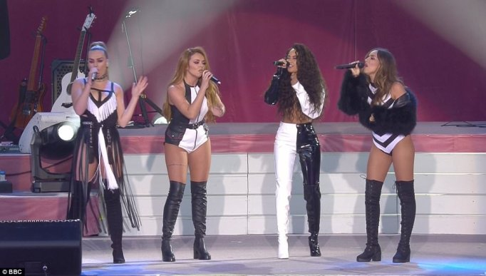 "Little Mix Get Slammed For Dressing Like ""Strippers"" For One Love Manchester Charity Concert"