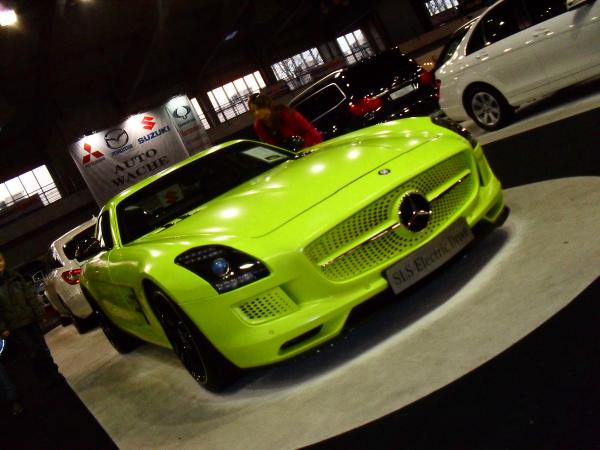 mercedes sls electric drive