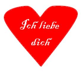 Ich liebe dich