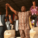Governor Wike, Wife and pastor Adeboye