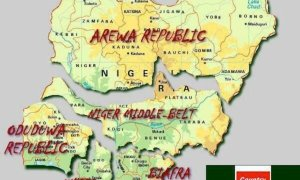 nigeria break up map