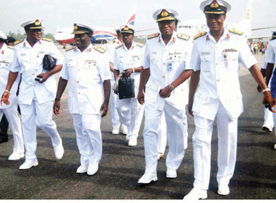Nigerian Navy Officers