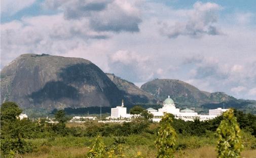 Aso rock villa: a view from afar