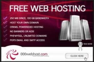 Free Webhosting in Nigeria