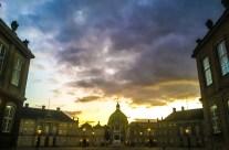 Copenhagen: Amalienborg Palace and The Marble Church.