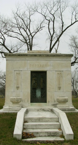 johnson mausoleum