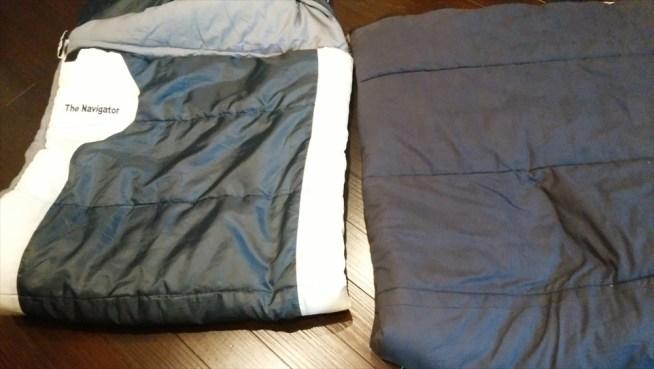 寝袋 2つ