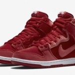 "『直リンク』11月11日発売 NIKE SB DUNK High PRM ""Red Velvet"""