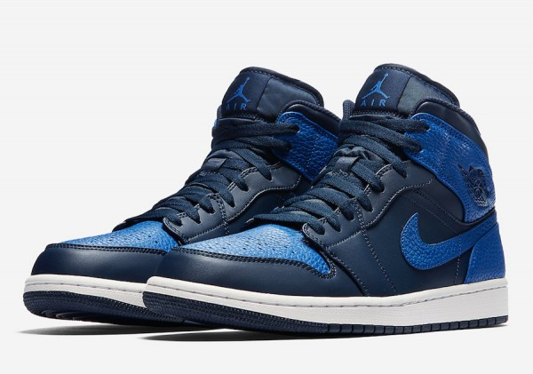 "【リーク】Air Jordan 1 Mid ""Obsidian/Royal""【エアジョーダン1】"