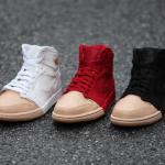 【近日発売】Air Jordan 1 Tan Dipped Toe Pack【エアジョーダン1】