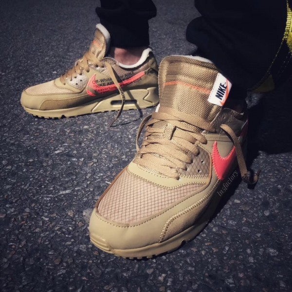 "【リーク】Off-White x Nike Air Max 90 ""Desert Ore""【オフホワイト x ナイキ】"