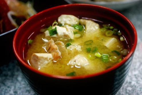 Сытный и бодрящий мисо-суп