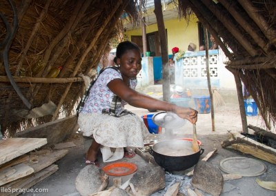 Filda Mbayo, 25, culinary, Makeni, Sierra Leone.
