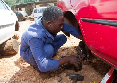 Agbogui Edoh, 25, automechanic training, Atakpame, Togo.
