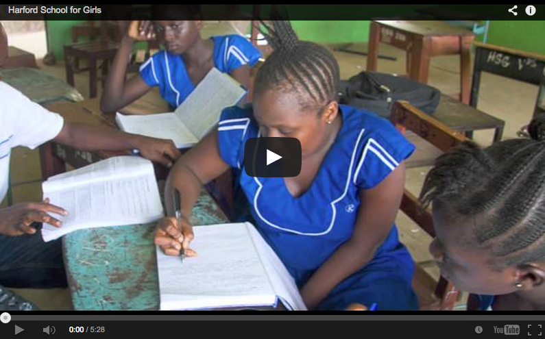 Video: Harford School for Girls, Sierra Leone