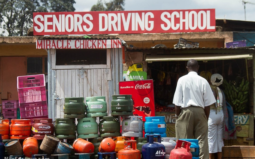 Photo: Seniors Driving School and Miracle Chicken Inn, Nairobi, Kenya