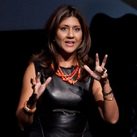 Nilofer Merchant speaking at TEDxHouston