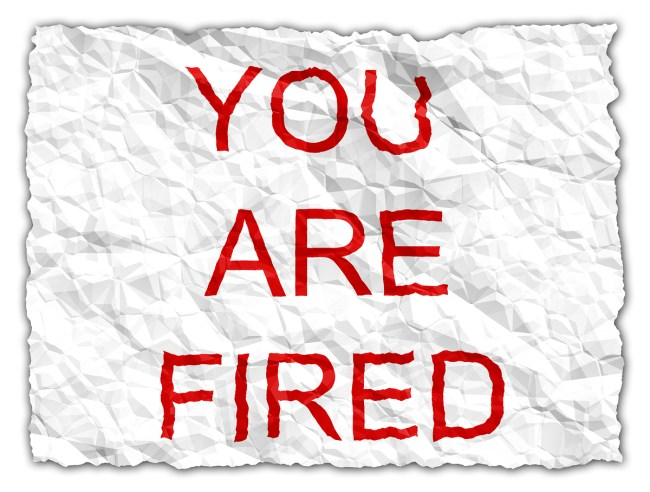 you-are-fired