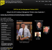 Thinkers50 circa 2013