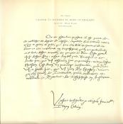 John Calvin's Hand Written Notes