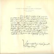 John Calvin's Hand Written Notes