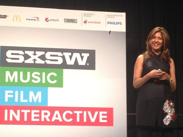 SXSW talk picture Nilofer Merchant