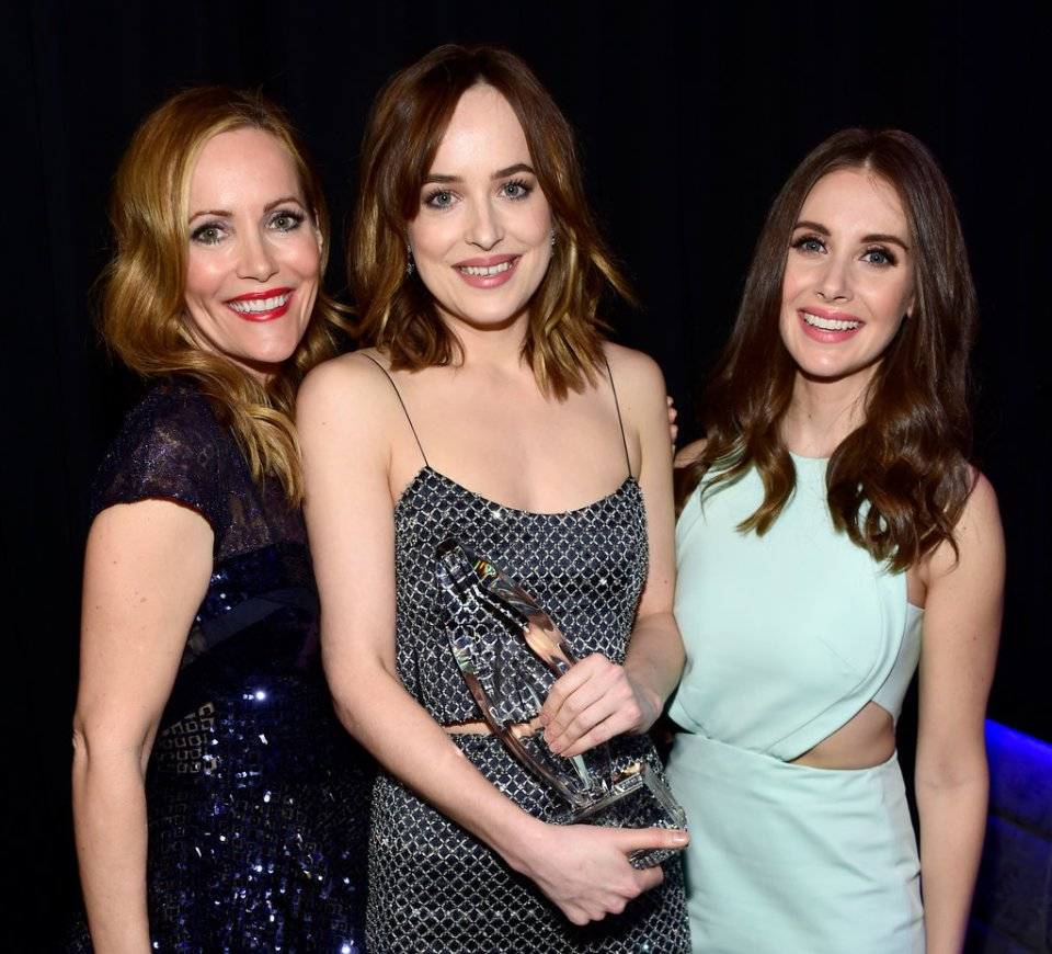 Leslie Mann&Dakota Johnson&Allison Brie