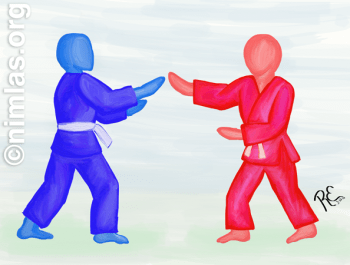 Maai Aikido Painting