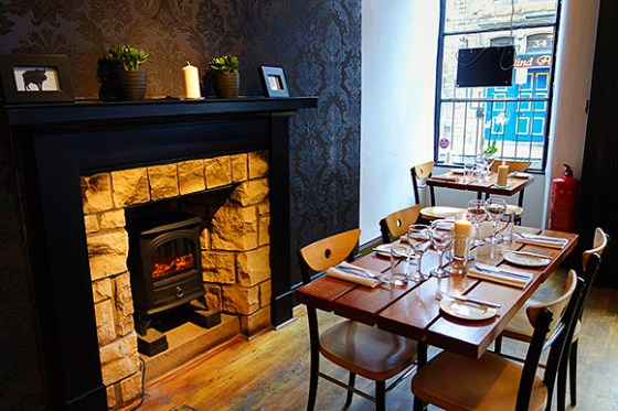 field restaurant Edinburgh