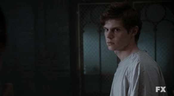 Evan Peters Kit Walker American Horror Story Asylum