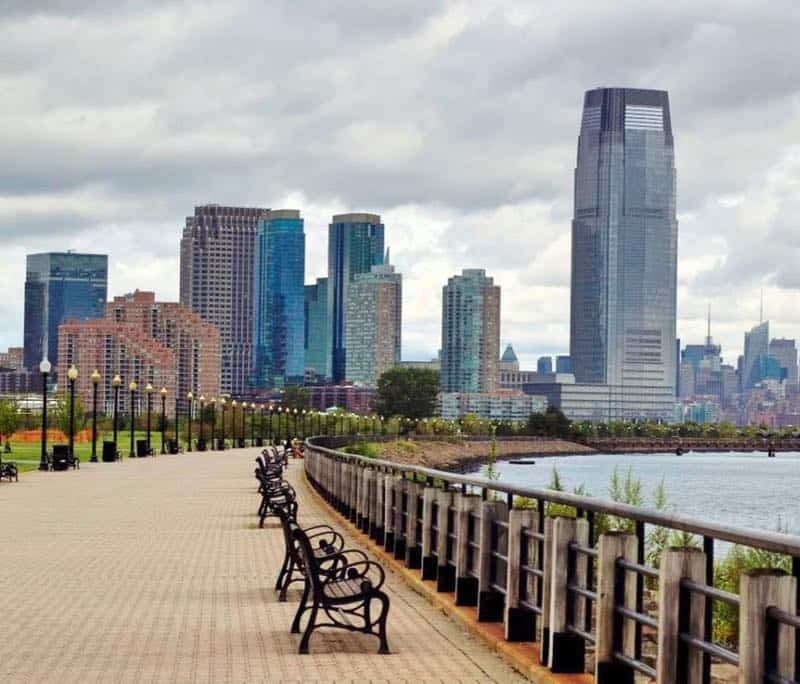 Liberty State Park in Jersey City