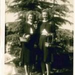 1942 with Katie Belle McGinn